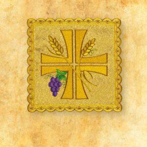 Palka haftowana złota nr 35