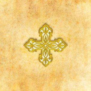 """Aplikacja haftowana """"Krzyż"""""""