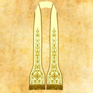 Stuła haftowana rzymska