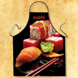 Fartuszek foto- sushi