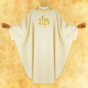"Chasuble embroidered ""Magnificat"""