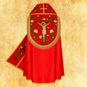"""Kapa haftowana """"Jezus na Krzyżu"""""""