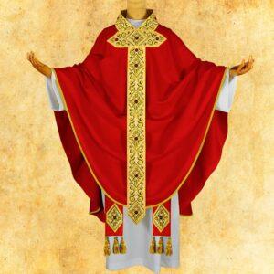 """Ornat haftowany """"Monsignor"""""""