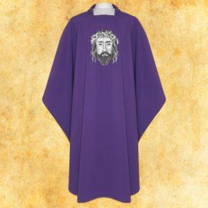 """Komplet ornat i stuła """"Jezus w koronie cierniowej"""""""