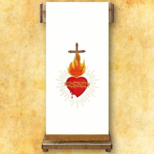 "Lektorium haftowane ""Serce Jezusa"""