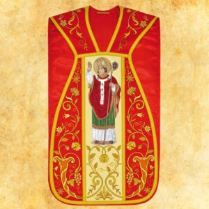 """Ornat haftowany rzymski """"Św. Stanisław"""""""