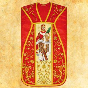 """Ornat haftowany rzymski """"Św. Wojciech"""""""